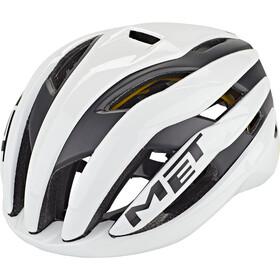 MET Trenta MIPS Helm, wit/zwart
